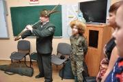 Lekcje w Szkole Specjalnej  Kołoząb pt. Myśliwi Dzieciom