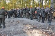 Polowanie Integracyjne Kół Łowieckich Powiatu Sztumskiego 25.10.2014
