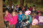 Spotkanie z młodzieżą w łowisku zorganizowane przez kol. Piotra Sieberta