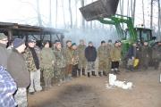 Sylwestrowe dokarmianie zwierzyny 31.12.2011